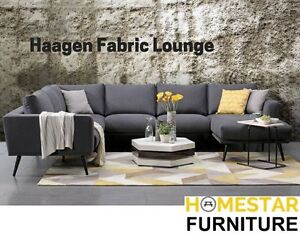 Haagen Modular Stylish Fabric Lounge - NEW COMING Sydney City Inner Sydney Preview