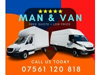 REMOVAL MAN AND VAN HIRE *FREE Quote* 07 561 120 818