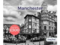 SAVE! United Kingdom Cancellation! 2 one way Flights, flying from Tenerife to Manchester.
