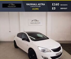 VAUXHALL ASTRA 1.6 EXCITE 5d 113 BHP BLUETOOTH, AUX, ALLOY WHEELS (white) 2012