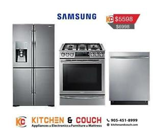 Online Special Deal on Samsung Appliance Packages (SAM906)