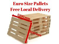 Heavy Duty Good Quality Wooden EPAL/EUR Euro Sized Pallets - Free Local Delivery