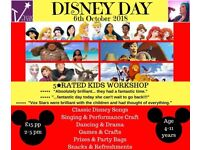 Disney Day - Kids Workshop/Fun kids event