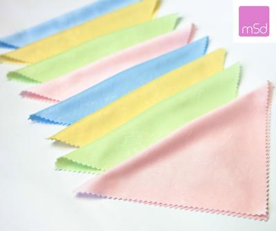 8 X Microfasertuch zum Brille reinigung tücher  multi color  Brillenputztuch