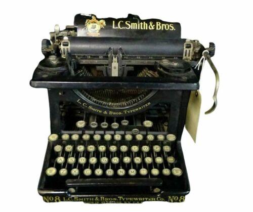 Typewriter, L.C. Smith & Bros., Special Home Decor, Vintage / Antique !!
