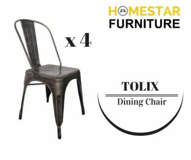 Tolix Dining Chair Promo Buy 4 for $180