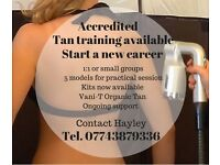 Accredited Spray Tan Training - 10% off tan training in November BOOK NOW!