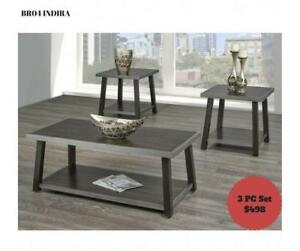 3 Pc Unique Coffee table Set (BD-1945)