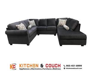 FABRIC MODERN STYLE SECTIONAL ON SALE (KC6)