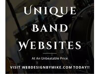 Band and artist websites to suit your every need