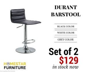 Durant Barstool PU Leather Gaslift Stool Set of 2 Sydney City Inner Sydney Preview