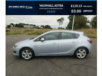 VAUXHALL ASTRA 1.6 SRI 2015,17* Alloys,Air Con,Bluetooth,1 Previous Owner,Very Clean £4,650.00