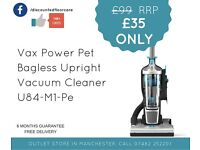 Free delivery vax pet bagless upright vacuum cleaner hoovers vacuums cleaners ccc