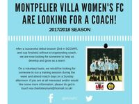 Interested in coaching a Brighton based Women's football team?