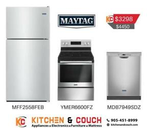 Maytag Black Appliance Package (MAY404)