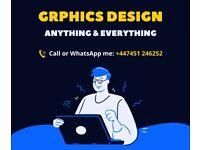 Freelance Wordpress Website design | Logo design | Graphic design | Flyer | Poster design service