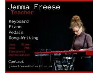 Keyboard & Piano Lessons