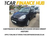 BAD CREDIT CAR CREDIT SPECIALISTS.....STUNNING NISSAN MICRA 1.2 ........representative APR 14.5%