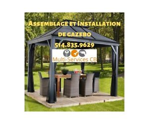 Gazebo Installation Service | Kijiji - Buy, Sell & Save with