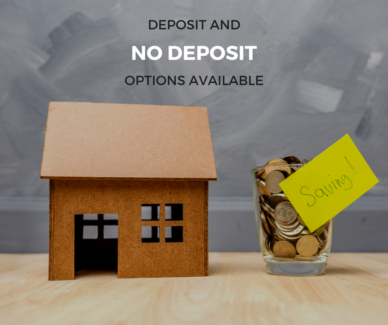 No deposit home