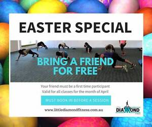 Easter Special Bring a friend for free to group classes for April Reservoir Darebin Area Preview