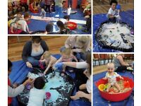 Messy Dinos - Family messy play