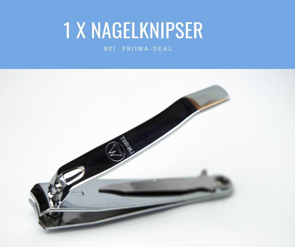 Nagelknipser Zinklegierung Nagelzange für Fingernagel Fußnägel Edelstahl Knipser