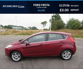 image for FORD FIESTA 1.2 ZETEC ,2013,Air Con,Bluetooth,£30 Road Tax,54mpg,Superb Condition