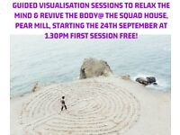 FREE GUIDED VISUALISATION SESSION