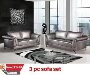SOFA FOR SALE IN NORFOLK COUNTY - FURNITURE CLEARANCE SALE | CALL 905-451-8999 | WWW.KITCHENANDCOUCH.COM (BD-182)