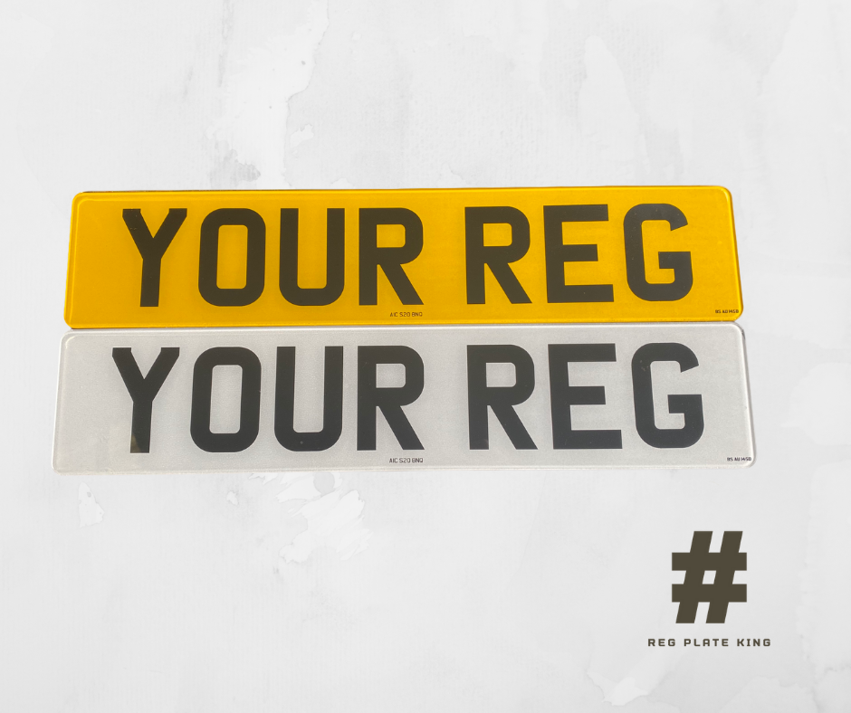 Car Parts - STANDARD MOT UK Road Legal Car Van Trailer Reg Registration Number Plates