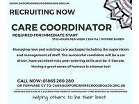 Care Coordinator - Oxford