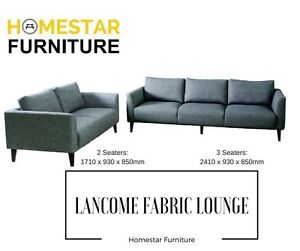 Lancome 3S + 2S Fabric Lounge - Stylish Fabric Lounge Sydney City Inner Sydney Preview