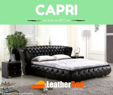 Finest FULLY Leather Bed Collection of Australia King Queen plans