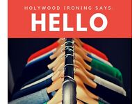 Holywood Ironing Services FREE Collection & Delivery 24/7