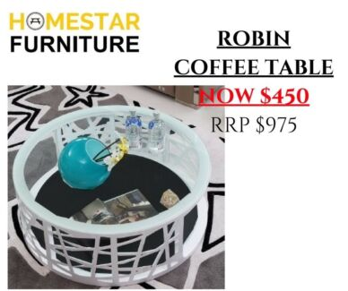 Robin Coffee Table RRP $975, Now $450