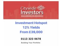 Investment property from £39,000 with a 12% Yield - City Centre Apartments *** REDUCED***