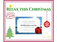 Beginners Meditation Course *SPECIAL Christmas Gift Vouchers available*