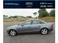 AUDI A4 2.0 TDI SE 2012,Alloys,Air Con,Bluetooth,Cruise,Parking Sensors,65mpg,£30 Road Tax
