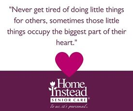 Look into a more rewarding role. Become a Caregiver today!