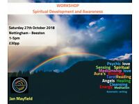 WORKSHOP - Spiritual Development and Awareness Saturday workshop