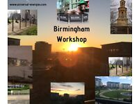 Birmingham - is the venue for this exquisite workshop led by Jan spiritual and personal
