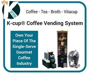 Exclusive Keurig® K-cup® Coffee Vending Business