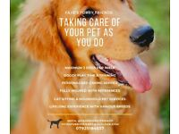 Trusted dog/cat/pet sitter/walker/doggy day care - Taking care of your pet as you do
