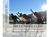 'Inspired By' Adult Dance Fitness Class - Learn choreography inspired by today's music artists!