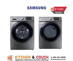 Samsung Washer and Dryer Package Deal  (SAM907)