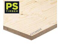 9mm Elliotis Pine Softwood Plywood 1220 x 2440 Sheet