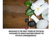 Indian Male Offering Full Body Massage, Reflexology