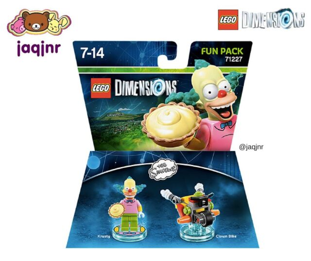 Lego Dimensions - THE SIMPSONS FUN PACK 71227 with Krusty *New*
