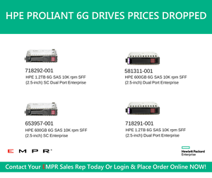 HPE STOCK CLEARANCE SALE - Hard Drives, Storage, Memory and more Sydney Region Preview